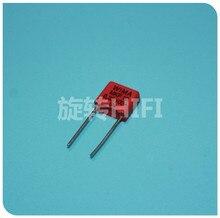10 sztuk czerwony WIMA MKP10 0.33UF 100V p7.5mm oryginalny nowy MKP 10 334/100V audio 330nf film 334 PCM7.5 gorąca sprzedaż 0.33 uf/100 v