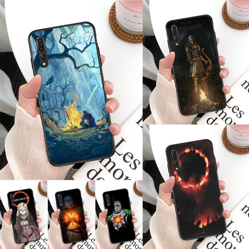Yinuoda Praise the Sun Dark Souls Phone Case For Huawei Mate 30 Pro P20 P30 P40 pro lite Y7 Y6 for Honor 8X 8A 10 20lite 10i