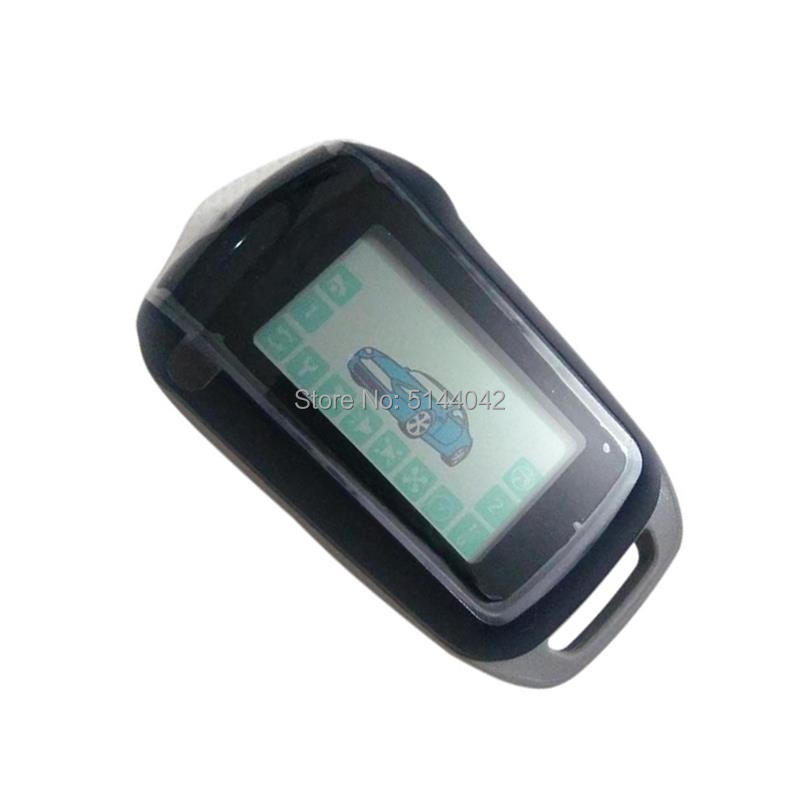 Remote-Control Car-Alarm-System Starline A92 LCD for Russian-Version 2-WAY Keychain Fob