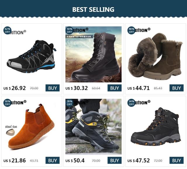 Мужские походные ботинки grition водонепроницаемые зимние тактические