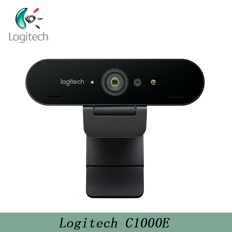 Logitech C1000E 4K PRO Webcam 5X Digital Zoom Utral HD Camera for Streaming Recording Broadcasting Video Conferencing 1080P Also image