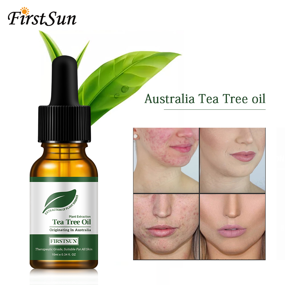 100% Natural Tea Tree Essential Oil Anti-wrinkle Extract Acne Removal Scars Marks Treatment Essential Oil for Any Skin CareTSLM1 image