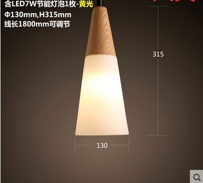 hanging lamp hanglamp glass bedroom LED  pendant lights  restaurant  hanglamp luminaria pendente