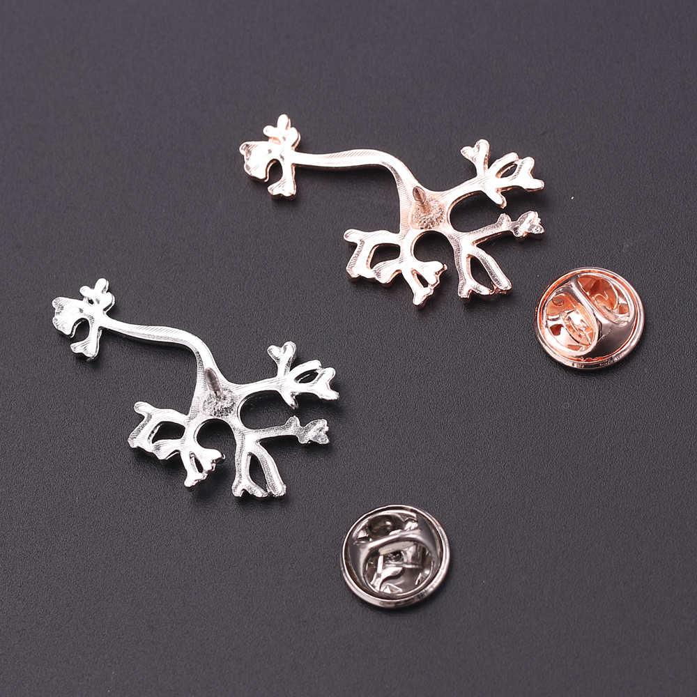 Neurologist Lapel Pin Medical Doctors Nurses Gift Brooch Trendy Jewelry Science Medicine Cute Badge For Men Women Accessories