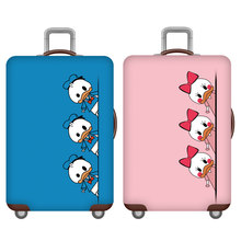 Animal Cartoon Elastic Luggage Cover,Suitcase Case Covers,Travel Accessories For 18-32 Inch Baggage,Trolley Trunk Dust Protector(China)