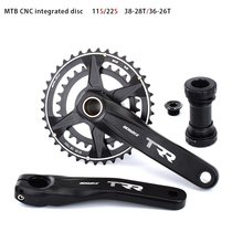 Bicycle Crankset 170mm MTB Crank Bike Sprocket 36/26T 38/28T Chainwheel Narrow Wide Chainring 11S 22S For SRAM GXP XX1 X9 XO X01