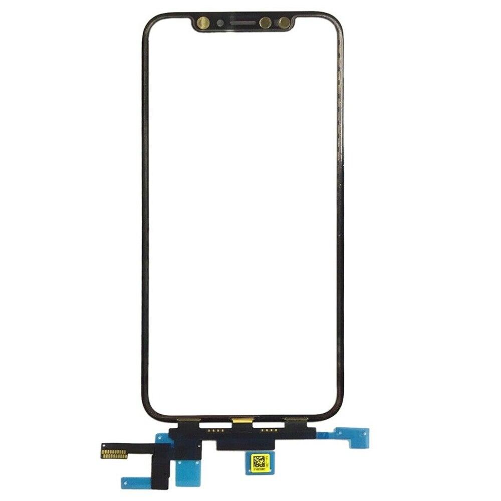 Numériseur d'écran tactile pour Apple iPhone X pièces de rechange de lentille en verre d'écran tactile externe de haute qualité - 2