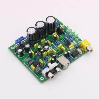 New  DIY CS8416+CS4398 DAC Board / kit Hifi audio decoder board Support USB coaxial headphone amplifier dac decoder usb input fber output coaxial input vt1630 tpa6120a2 cs4398 chip driving 16 600 ohms