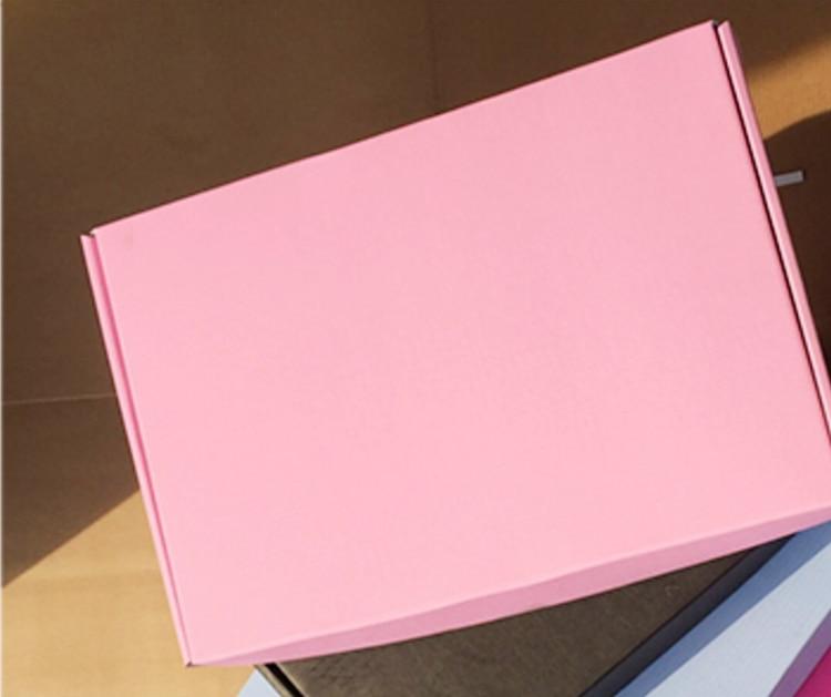 10pcs Colorful Large Kraft Paper Gift Packaging Box,kraft Cardboard Handmade Soap Candy Box,red/black Craft Paper Gift Box