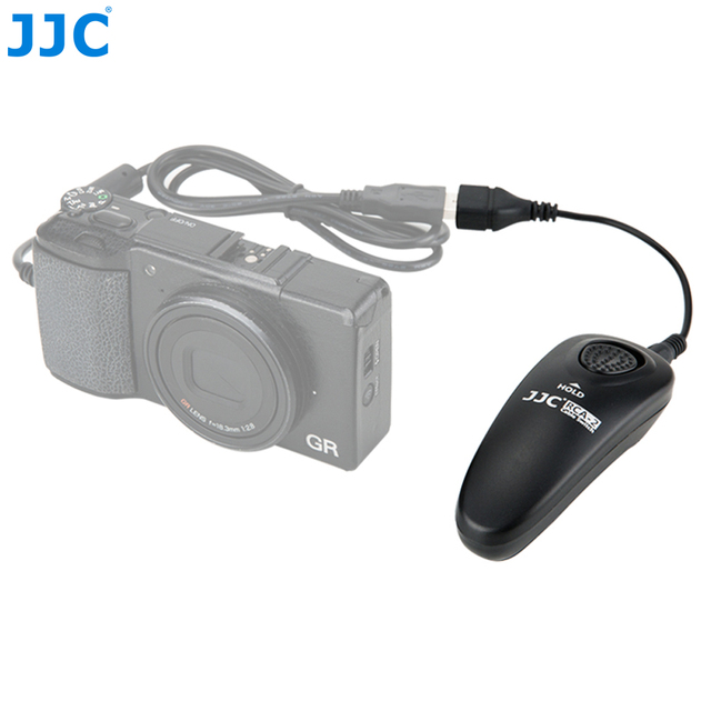 JJC RCA 2II Cable Switch For Ricoh GR III/GR II/GR/GR DIGITAL IV/GR 800SE/Theta S Cameras Replaces Ricoh CA 3