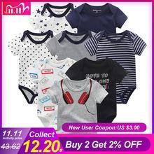 8 Stks/partij Baby Rompertjes Katoen Overalls Pasgeboren Kleding Roupas De Bebe Jongen Meisje Jumpsuit & Kleding Voor Kinderen Overalls Winter