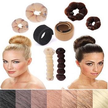 Czarne opaski do stylizacji włosów dla kobiet spinka do włosów Disk Pull Pins opaska do włosów spinki do włosów gąbka akcesoria do włosów Bun Updo Hairbands tanie i dobre opinie skritts WOMEN Dla dorosłych Poliester hair accessories Moda Hairgrips Stałe Hair Making Tool hair braiding tools donut bun maker