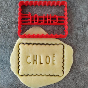 Custom your name cookie cutter, personalized cookie stamp can make different names,Chocolate Biscuit Mold,biscuit cutters