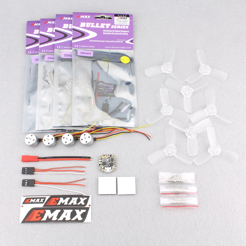 Emax <font><b>1104</b></font> with <font><b>ESC</b></font> flight control paddle drone power set for FPV model 85mm rack RC multi-rotor aircraft accessories image