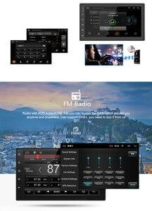 """Image 5 - Автомобильный мультимедийный плеер, Android 2 din, радио, встроенный с сенсорным экраном, FM, DAB, BT, GPS, Wi Fi, без DVD, 7 """"HD, автомобильная аудионавигация, 2DIN"""