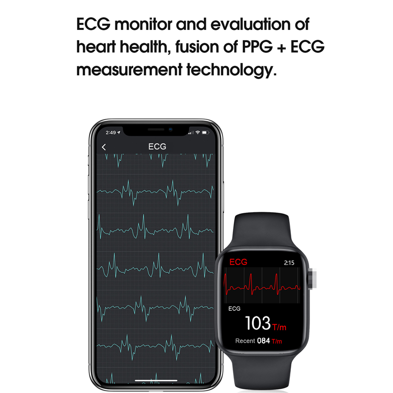 lowest price W16 PK W26 IP68 Smart Watch IWO 12 pro Heart Rate Monitor 320 385 Resolution Fashion IWO 12 SmartWatch 5 for Android IOS Phone