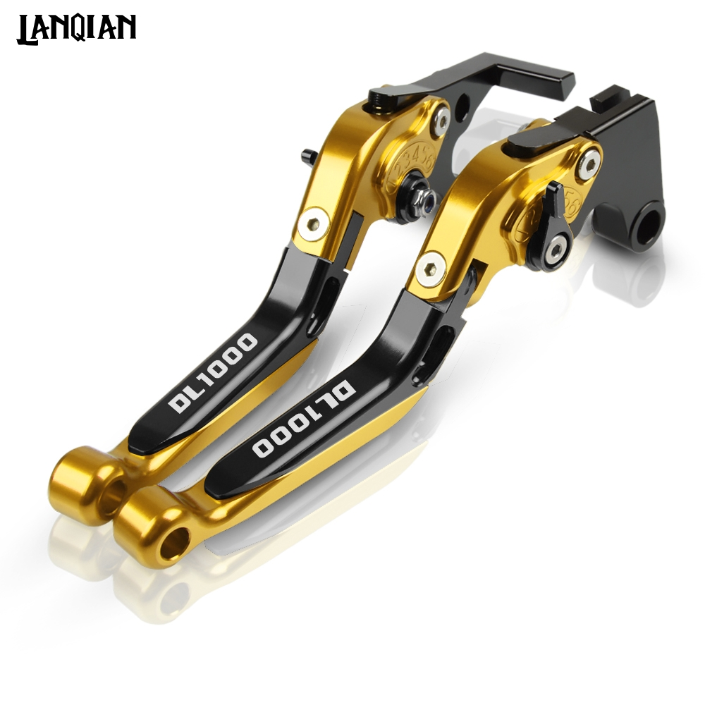 For Suzuki DL1000 <font><b>V</b></font>-<font><b>STROM</b></font> Motorcycle Brake Clutch Lever <font><b>DL</b></font> <font><b>1000</b></font> <font><b>V</b></font> <font><b>STROM</b></font> 2002-2019 2013 2014 2015 2016 2017 2018 CNC Accessories image