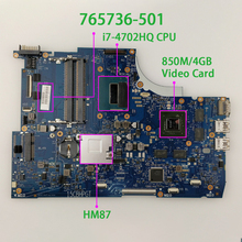 765736 501 765736 001 850M/4GB i7 4702HQ HM87 for HP ENVY 15 Q Series 15T Q100 Notebook Laptop Motherboard Tested