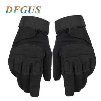 New Men Tactical Gloves Military Outdoor Full Finger Sports Antiskid Wearable Gym Army Mittens