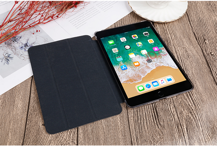 iPad Case QIJUN 10.2 8th Gen PU Flip Stand Painted iPad leather 2020 Cover For inch For