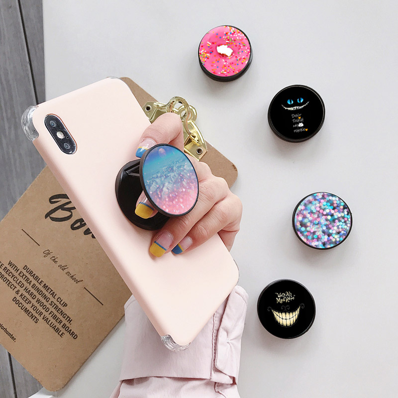 Hot Selling Foldable Phone Holder Stand Universal Finger Ring Holder Phone Bracket For Smartphone Tablets