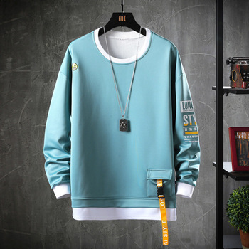 2020 Solid Color Sweatshirt Men Hoodies   2