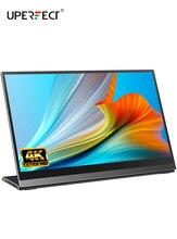 Uperfect Ultra HD 4K ekran IPS 10 punkt dotykowy czujnik G przenośny Monitor 14 Cal do gier wyświetlacz dla tik tok Camgirl Show na żywo
