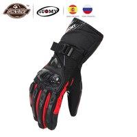 Suomy gant luvas masculinas para motoqueiro  100% à prova d' água e de vento  para inverto  funciona em ela touchscreen  luvas para piloto