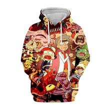 Tessffel Rick and Morty New Fashion Colorful casual Tracksuit 3D Print Hoodie/Sweatshirt/Jacket/shirts Mens Womens funny style-6