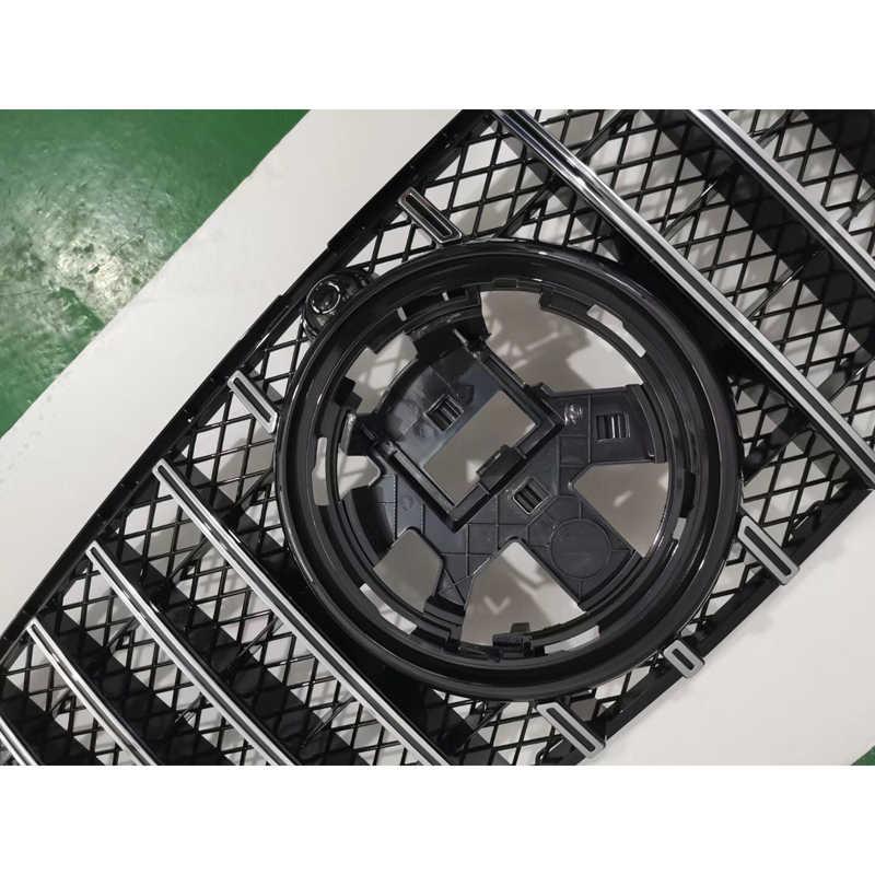 Voorste Auto Midden Grille Voor Mercedes-Benz Gle Klasse W167 2019 - 2020 Gt Diamant GLE350 Abs Plastic Front grille Verticale Bar