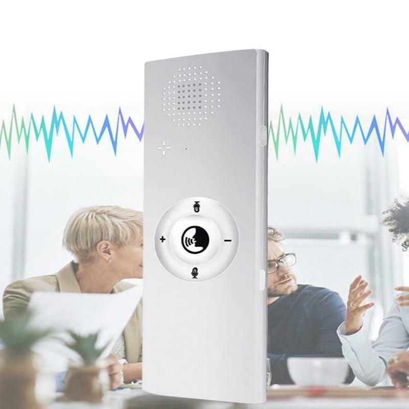 Portable Mini Multi Language Smart Voice Translator 40 Languages Translator Bluetooth Wireless Two Way Real Time Instant Voice(W|Translator| |  - title=