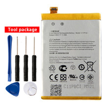 Orginal C11P1424 Battery For Asus ZenFone 2 Z008D ZE551ML ZE550ML Z00AD ZenFone2 5.5inch 3000mAh чехол epik яркий с абстракцией для zenfone 2 ze551ml ze550ml