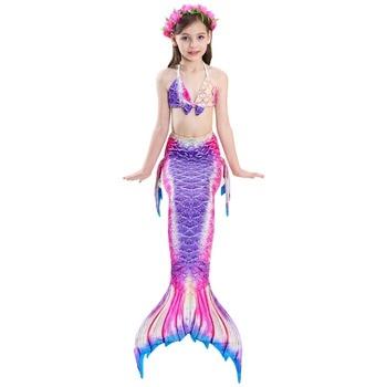 Maillot de bain trois pièces bikini body 3D Sirène