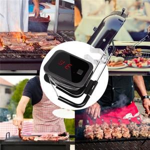 Image 5 - Inkbird בשר מדחום דיגיטלי מנגל מדחום אלקטרוני בישול מזון מדחום IBT 2X עם כפול בדיקות וטיימר