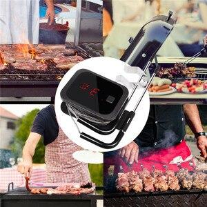 Image 5 - Inkbird Voedsel Koken Bluetooth Draadloze Bbq Thermometer IBT 2X Met Dubbele Probes En Timer Voor Oven Vlees Grill Gratis App Controle