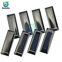 الشمس الطاقة للطي 0.05W الخلايا الشمسية شاحن 0.5V 100mA الألواح الشمسية للهواتف الذكية بطاريات لعبة في الهواء الطلق السفر أداة|لوحة شمسية|   -