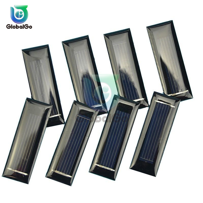Sun Power Folding 0.05W Solar Cells Charger 0.5V 100mA Solar Panels For Smartphones Batteries Toy Outdoor Travel Tool
