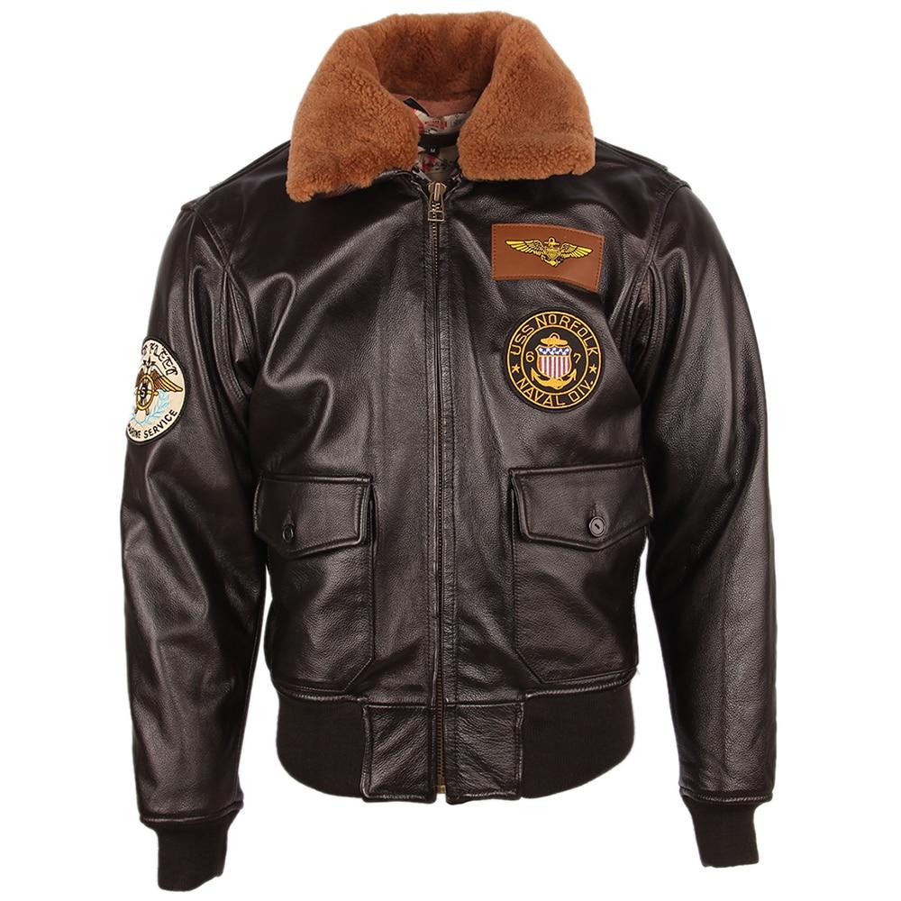 H3102dc31822f4e14ac0c0b548c78b9a24 Men Leather Jacket Thick 100% Calfskin Quilted Natural Fur Collar Vintage Distressed Leather Jacket Men Warm Winter Coat M253