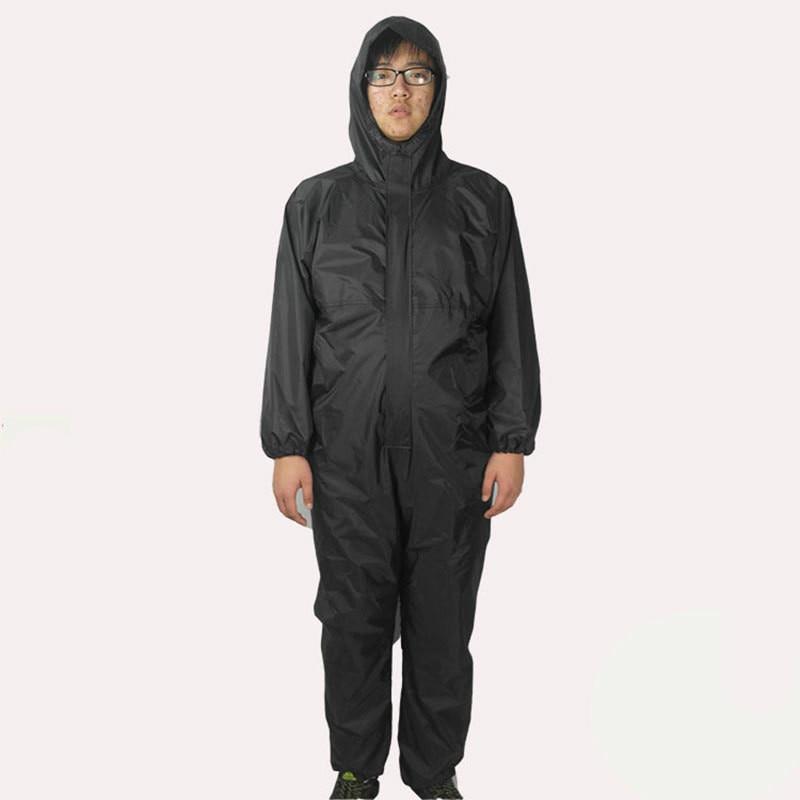 Wholesale Waterproof Adult Connected Rainwear, Rain-proof, Oil-proof, Dust-proof, Paint Connected Workwear Suit For Male