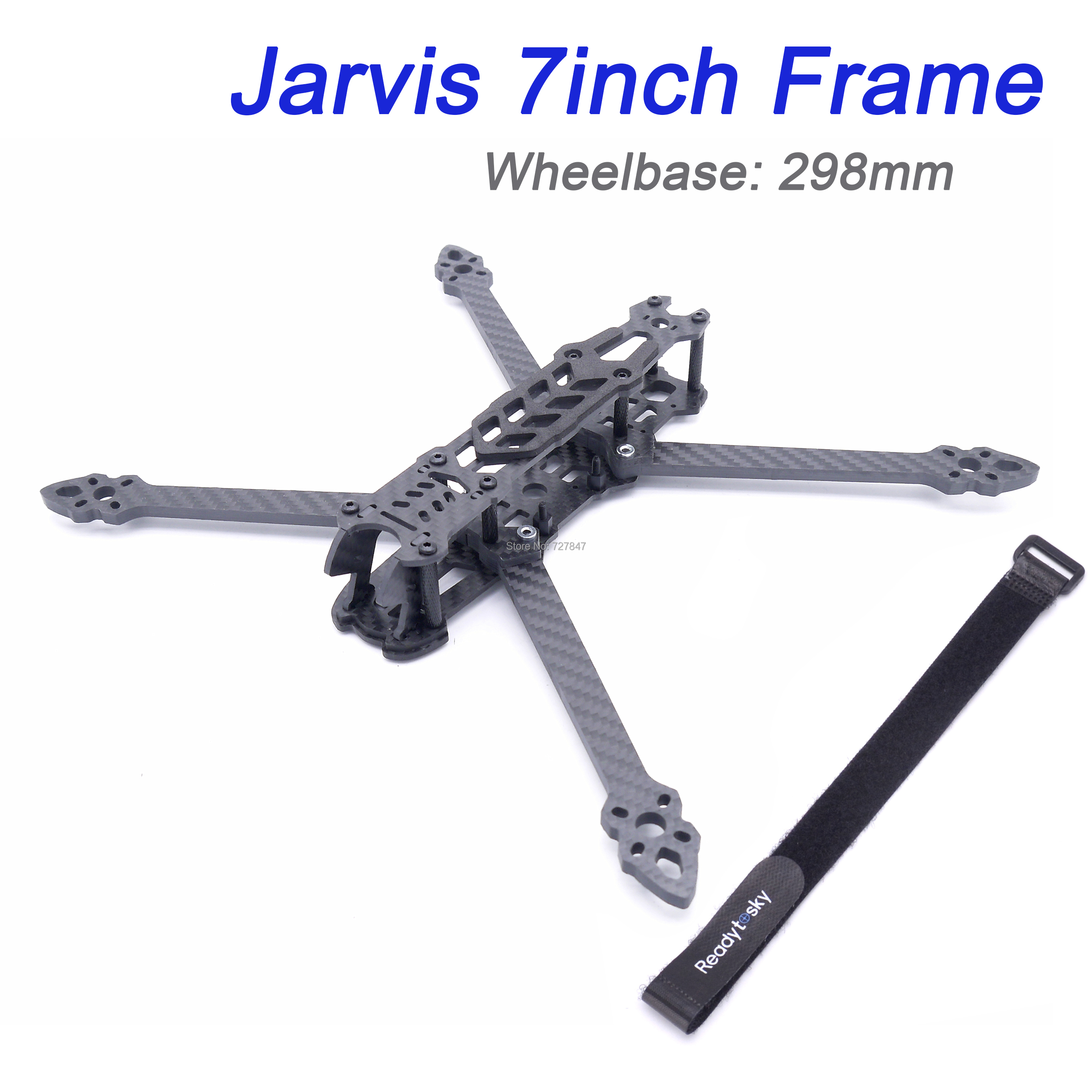 FPV Jarvis 5 zoll 237mm/7 zoll 298mm Carbon fiber w/5mm Arm quadcopter rahmen kit für 2204/2205 2207/2306/2405/2307/2308/2506 Bürstenlosen Motor