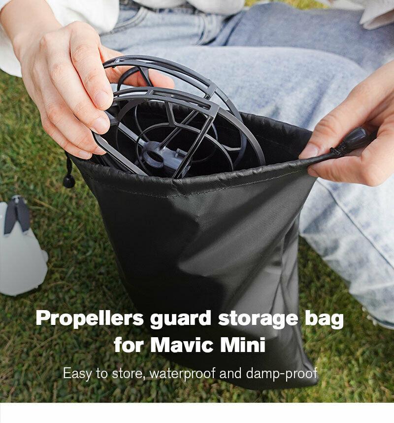 Storage-Bag Drone-Accessories Propeller-Guard Mavic Waterproof DJI Mini for Protection-Props