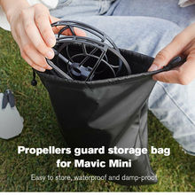 Mavic мини-пропеллер, защитный чехол для хранения, портативная каркольцевая сумка, водонепроницаемый защитный реквизит для DJI Mavic Mini Drone, аксес...