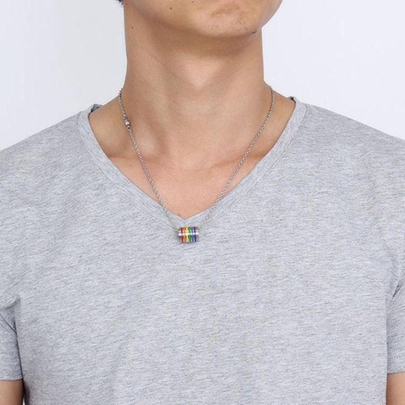 men lgbt necklace (11)