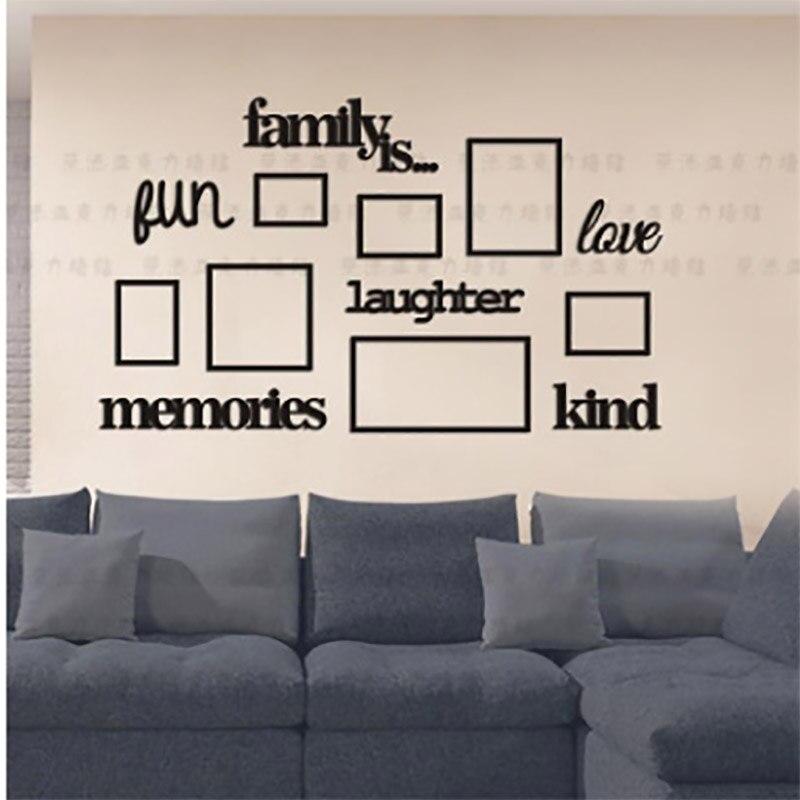 Семья дерево фоторамка акриловая 3d стерео наклейки на стену гостиная спальня наклейки на стену декоративные детские комнаты фото secur - 6