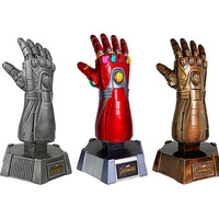 30cm Avengers 4 Endgame Thanos Iron Man Infinity Gauntlet Arms Figurine Toys Resin Action Figure Collection Model Toy