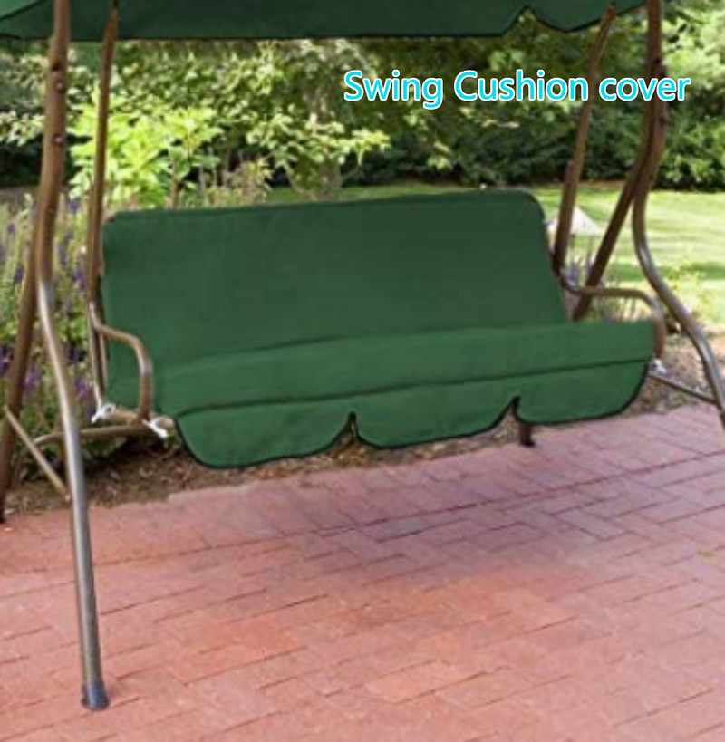 Swing Hammock Bench Cushion Cover Waterproof Dustproof Garden Swing Cushion Spare Fabric Cover Dust Covers