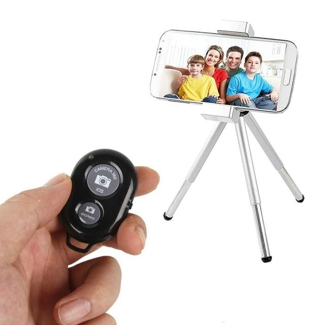 Remote Shutter Release for Phone Wireless Control for Monopod Photo Camera Shutter Button Bluetooth Remote for Smartphone 3