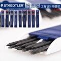 Staedtler mars carbono 200 2.00mm lápis mecânico chumbo 4b hb 2 h preto/azul/vermelho cores escritório & escola escrita suprimentos