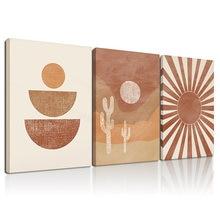 Абстрактный домашний декор в стиле бохо картина рамке настенное
