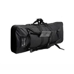 Image 2 - Bolsa de transporte de arma airsoft rifle tático, bolsa militar pesada acessórios de armas, protetor de arma sniper 81 94 118 cm
